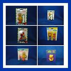 NEW WILTON SESAME STREET BIG BIRD, ELMO, BIRTHDAY CANDLES, YOU PICK FROM 6 KINDS