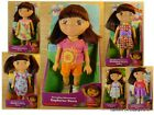 DORA THE EXPLORER Fisher Price 8 inch Tall Dora Doll YOU CHOOSE!