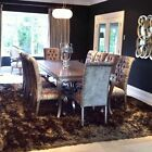 Bespoke Silver Leaf Extra Large Dining Table 3.1m X 1.1m Ex Display
