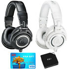 Audio-Technica ATH-M50X Pro Studio Headphones w FiiO E6 Amp & $30 Visa Gift Card