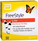 FreeStyle Lite Blood Glucose Test Strips 50 Each (Pack of 7)