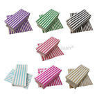 PICK AND MIX PAPER BAGS CANDY STRIPE  SWEET GIFT PARTY SWEETS WEDDING