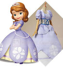 Priness Sofia Adult Dress Deluxe Cosplay Costume Ball Gown Purple Dress