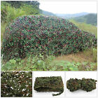 3m X 5m Oxford Fabric Camouflage Net/Camo Netting Hunting/Shooting Hide Army UK