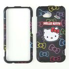 Black Hello Kitt Protector Faceplate Case FOR HTC Incredible Incredible 4G LTE