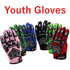 Colourful Kids Motocross Racing Pro-biker Motorcycle go-kart Cycling Gloves
