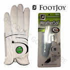 Women's FootJoy Weathersof Golf Glove Left Hand, Right Handed Golfers Ladies