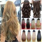 Premium Clip In Hair Extensions 3/4 Full Head Weft Half Head one piece