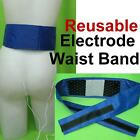 Waist Band Back Electrode Massage Pads for Tens Machine Pain Relief Reusable Lot