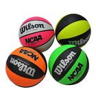WILSON BASKETBALL - SIZE 6, 7 - NCAA MVP NEON . FOR ALL COURT USE - BEST PRICE