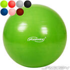 Fitness Ball Workout Core Exercise Yoga Home Gym Back Pregnancy Birthing + Pump