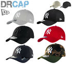 NEW ERA 39THIRTY CURVED PEAK NEW YORK NY YANKEES STRETCH FIT BASEBALL CAPS S-XL