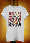 If You Don't Know Now You Know Biggie Men Women Unisex T Shirt Tank Top Vest 18