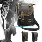 New Retro Genuine Leather Universal Outdoor Sleeve Case Shoulder Bag for Tablet
