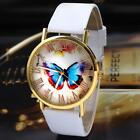 NEW Luxury Women's Butterfly Case Leather Analog Quartz Wrist Watch LOWEST PRICE