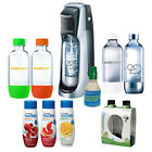 SodaStream Fountain Jet Soda Maker with 6 Bottles, 3 Flavors, and Starter CO2