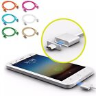 Micro USB Charging Data Cable Magnetic Adapter Braided for Android Samsung / LG