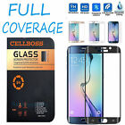 Full Cover Tempered Glass Curved Screen Protector for Samsung Galaxy S6 Edge