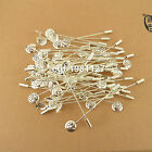 Steel/nickel Tone Lapel Pin Coat Stick Pin Clutches Setting Brooches Boutonniere