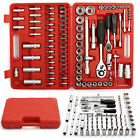 "94PC 1/2""&1/4"" SOCKET SET & SCREWDRIVER BIT TORX RATCHET DRIVER CASE TOOL KIT�"