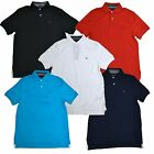 Tommy Hilfiger Polo Shirt Mens Interlock Knit Classic Fit Short Sleeve New Th