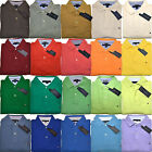 Tommy Hilfiger Mens Polo Shirt Classic Fit Mesh Casual All Colors Th Logo V237pp