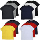 Tommy Hilfiger Lot Of 3 Mens T-Shirts Solid Tee Shirt Assorted Colors Logo New