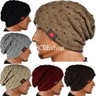 New Men Women Warm Winter Knit Ski Beanie Skull Slouchy Oversize Cap Hat Unisex