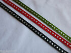 7 mm x 2 metre Box Stitch Ribbon in Red,Geen or Black-Christmas/Presents/Crafts