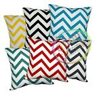 Le+6 Color High Quality Cotton Canvas Zig Zag Fabric Cushion Cover/Pillow Case