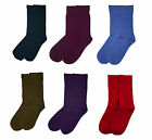 "Rambutan Men ""Space Collection"" Bamboo Seamless Dress Socks UK 8-12 Solid Color"