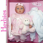 "Molly P Originals Camille 16"" Baby Esemble Set, Vinyl Doll & Accesssories"