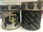 Colorado Buffalos Licensed NCAA Ribbon-4 Different Prints/Width Offray