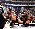 Ken Shamrock Signed 8x10 Photo PSA/DNA COA UFC WWE Picture vs The Rock Autograph