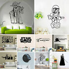 Removable Star Wars 3D Wall Stickers Kids Room Decal Vinyl Art Mural Home Decor