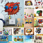 37 Style 3D Wall Stickers Removable Mural Nursery Kids Bedroom Home Decor Decals