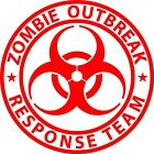 Zombie Outbreak Response Team  Decal Sticker 4X4 Jeep 2A Ipad AR 15 SIG USA Yeti