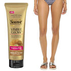 Suave Professional Visible Glow Self-Tanning Body Lotion Skin Moisturizer Tanner