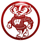 WISCONSIN BADGERS Steel Scenic Art Wall Design