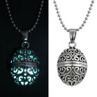 New Hot Womens Magic Steampunk Fairy Locket  Glow In The Dark Pendant Necklace