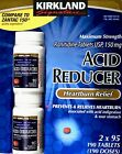 Kirkland Acid Reducer Heartburn Relief Ranitidine 150mg Zantac 95 190 380 Tablet