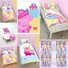 NEW PEPPA PIG NAUTICAL DESIGN BEDROOM - Choose One or More - QUILT GIRLS KIDS