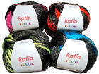 Katia Fluor Super Chunky Wool Yarn Hats Scarves Free Pattern 100g offer