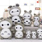 Big white Baymax changed to Totoro Plush Toys Dolls creative birthday gift 1PC