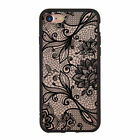 Luxury Retro Hollow Pattern Women Girl Hard Case Cover For iPhone 8 5s 6s 7 Plus