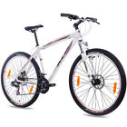 "27,5"" Zoll MTB MOUNTAINBIKE FAHRRAD KCP GARRIOT mit 21G SHIMANO weiss TOP"