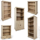 Rustic Bookcase Display Shelving Unit Storage Organizer Bookshelf Rack Home