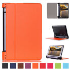 "Luxury Leather Folding Stand Case Wake Cover For Lenovo Yoga 3 8 850F 8"" Tablet"
