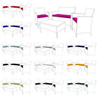 Replacement 3pc Cushions Set To Fit Rattan Garden Furniture Chairs Sofa Patio