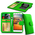 Clip On PU Leather Flip Wallet Book Case Cover For Cubot X11